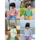 Sweater / sweater Other / other Gray, green, cream, pink female 80, 90, 100, 110, 120, 130, 140, 150 spring and autumn nothing leisure time Socket routine There are models in the real shooting other Cartoon characters