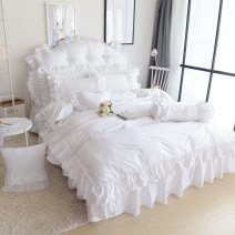 Bedding Set / four piece set / multi piece set cotton other Solid color 133*72 Other / other cotton 4 pieces 40 Pure beauty 1.2m (4 ft) bed, 1.5m (5 ft) bed, 1.8m (6 ft) bed, 2.0m (6.6 ft) bed, others 100% cotton YSL0090