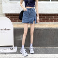 skirt Summer 2021 S,M,L,XL Picture color Short skirt commute High waist skirt Solid color Type A 18-24 years old 31% (inclusive) - 50% (inclusive) other other Korean version