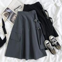skirt Spring 2020 Average size Gray, black Other / other