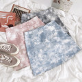 skirt Summer 2021 S,M,L Blue, gray, pink 18-24 years old 51% (inclusive) - 70% (inclusive) other cotton