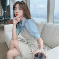 Fashion suit Summer 2021 S,M,L,XL,XXL 8103 single top, 8103 single skirt, 8103 Top + skirt 25-35 years old 30% and below