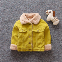 Cotton padded jacket neutral nothing other Yue Yue cat 73cm,80cm,90cm,100cm,110cm thickening Single breasted No model Solid color cotton Class A stand collar Cotton 95% polyurethane elastic fiber (spandex) 5% Intradermal bile duct Cotton 100%