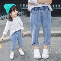 trousers Other / other female 90 collection first delivery, 100 collection first delivery, 110 collection first delivery, 120 collection first delivery, 130 collection first delivery, 140 collection first delivery spring and autumn trousers Korean version There are models in the real shooting Jeans
