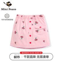 skirt 110/50 110/53 120cm 130cm 140cm 150cm Pink mini peace female Cotton 100% summer skirt leisure time Cartoon animation A-line skirt F2GEA2V40 Class B Spring 2020