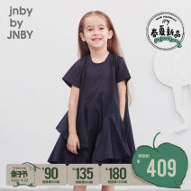 Dress 413 grey Tibetan blue 413 grey Tibetan blue female jnby by JNBY 100cm 110cm 120cm 130cm 140cm 150cm 160cm Cotton 100% summer cotton other 1K3500230 Class B Summer 2020 Four, five, six, seven, eight, nine, ten, eleven, twelve