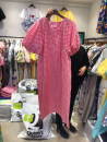Dress Summer 2020 Yellow, blue, pink S,M,L,XL longuette singleton  Short sleeve commute High waist lattice Socket A-line skirt puff sleeve Others 18-24 years old Korean version 30% and below other other