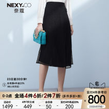 skirt Spring 2021 36/S 38/M 40/L 42/XL 44/XXL black Middle-skirt commute Natural waist A-line skirt other Type A 35-39 years old XW00826 More than 95% other NEXY.CO/ Naikou polyester fiber Simplicity Polyester 100% Same model in shopping mall (sold online and offline)