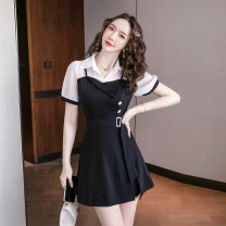 Fashion suit Summer 2021 S,M,L,XL,2XL black 18-25 years old 0968 good quality