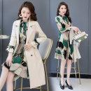 Fashion suit Autumn 2020 M,L,XL,XXL,XXXL,XXXXL Off white [two-piece set], black [two-piece set], green [two-piece set], 6638 black [two-piece set], 6638 pink [two-piece set], 6638 blue [two-piece set] 25-35 years old 96% and above polyester fiber