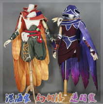 Cosplay women's wear Presale Other women 14 years old and above LMS XL tailored game Xia's clothing full section Luo's clothing full section
