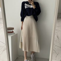 Fashion suit Autumn 2020 Average size Sweater, skirt s, Skirt M, skirt L 18-25 years old
