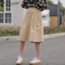 skirt Spring 2021 S M L Black apricot Middle-skirt Sweet High waist 18-24 years old 3222-2 More than 95% other Fan Weier other Other 100% Pure e-commerce (online only) solar system