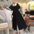 Casual pants black S,M,L,XL Summer 2020 trousers Wide leg pants High waist commute routine 18-24 years old 51% (inclusive) - 70% (inclusive) Korean version cotton