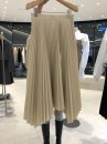 skirt Spring 2021 S,M,L,XL Khaki, black Mid length dress commute High waist A-line skirt Solid color Type A 18-24 years old 51% (inclusive) - 70% (inclusive) other other Korean version