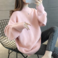 sweater Autumn 2020 S M L XL Beige pink orange blue Long sleeves Socket singleton  Regular other 95% and above Crew neck Regular commute routine Solid color Straight cylinder Regular wool Keep warm and warm You've got to go A06132 Other 100% Pure e-commerce (online only)