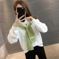 Sweater / sweater Autumn of 2019 S M L XL Long sleeves routine Socket singleton  routine Crew neck easy commute routine 96% and above You've got to go Korean version other Other 100%