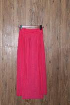 skirt Summer 2020 Rose red longuette