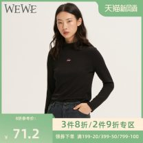 Wool knitwear Autumn of 2019 S/160 M/165 L/170 Black g98276 yellow g98276 apricot g98276 Nine point sleeve other More than 95% Regular routine easy High collar Socket G98276 25-29 years old We / Weiwei Polyester 100% Pure e-commerce (online only)