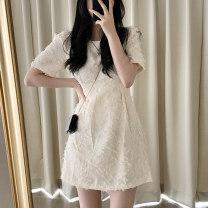 Dress Summer 2021 Beige S,M,L 25-29 years old