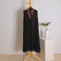 Dress Summer of 2019 black XL Other / other