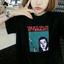 Cartoon T-shirt / Shoes / clothing female female Over 14 years old goods in stock Black, white M,L,XL,2XL summer female street cotton