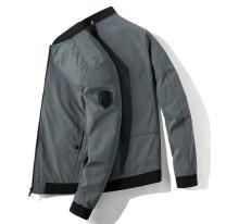 Jacket Fick left wheel Youth fashion Black, khaki, dark grey, black (hu-21933), dark grey (hu-21933), khaki (hu-21933), black (hai-9991 plush), dark blue (hai-9991 plush), black (hai-9992 plush), dark blue (hai-9992 plush) M. L, XL, 2XL, 3XL, 4XL (161-180kg), 5XL (181-200kg) routine standard spring