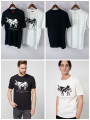T-shirt Fashion City White, black thin S,M,L,XL,2XL Others Short sleeve Crew neck Self cultivation Other leisure summer