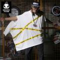 T-shirt Youth fashion white routine 175/92A/XL Genanx / Ge Nanshi C816 Cotton 92.7% polyurethane elastic fiber (spandex) 7.3% Knitted fabric