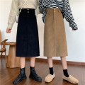 skirt Winter 2020 S [90-100kg], m [100-110kg], l [110-120kg], XL [120-135kg], 2XL [135-150kg], 3XL [150-165kg], 4XL [165-175kg], 5XL [175-200kg] Khaki, black Mid length dress commute High waist A-line skirt Solid color Type A 18-24 years old 71% (inclusive) - 80% (inclusive) Coardiarn / Kuandian