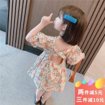 Dress female Other / other 90cm,100cm,110cm,120cm,130cm Other 100% summer princess Short sleeve Broken flowers cotton A-line skirt Class B 7 years, 12 months, 3 years, 3 months, 6 years, 18 months, 9 months, 6 months, 2 years, 5 years, 4 years Chinese Mainland Zhejiang Province Huzhou City