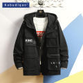 Jacket Kabudlqao / Cappuccino Youth fashion Black and white M L XL 2XL 3XL 4XL 5XL XXXL XXXXL XXXXXL routine easy Other leisure spring 022HJ1910 Cotton 98% pet 2% Long sleeves Wear out Hood tide Large size routine Zipper placket Cloth hem No iron treatment Closing sleeve Solid color Seldingham cotton