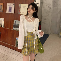 Fashion suit Summer 2021 S. M, l, average size Jacket 3715, sling 3716, skirt 3717 18-25 years old Other / other W0415 30% and below