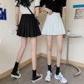 skirt Summer 2021 S,M,L White, black Short skirt commute High waist Pleated skirt Type A 18-24 years old 0412L 30% and below other Other / other Korean version