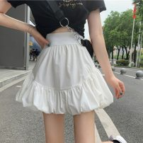skirt Spring 2021 S,M,L White, black Short skirt commute High waist A-line skirt Solid color Type A 18-24 years old W0330 31% (inclusive) - 50% (inclusive) other Other / other other zipper Korean version 401g / m ^ 2 (inclusive) - 500g / m ^ 2 (inclusive)