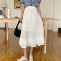 skirt Summer 2021 Average size White, black Mid length dress commute High waist A-line skirt Type A 18-24 years old 0401Y 31% (inclusive) - 50% (inclusive) Other / other other Korean version