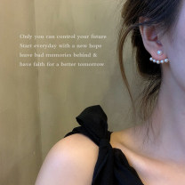 Ear Studs Alloy / silver / gold RMB 1.00-9.99 Other / other brand new female goods in stock Fresh out of the oven Not inlaid other