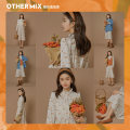 Dress Spring 2021 Advance sale of orange soda from April 15 L XL S M longuette singleton  Long sleeves commute Half high collar Abstract pattern Socket Big swing shirt sleeve Others 18-24 years old Type X Othermix Korean version fungus BMB1223W More than 95% other other Other 100%