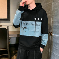 Sweater Youth fashion Others Dark grey, black, blue M. L, XL, 2XL, 3XL, s small, 4XL, 5XL, XS plus small character Socket routine spring easy teenagers Polyester 100%