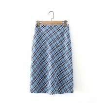 skirt Spring 2021 S,M,L As shown in the figure Mid length dress street High waist 18-24 years old 71% (inclusive) - 80% (inclusive) other Europe and America