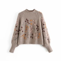 Wool knitwear Spring 2021 S,M,L As shown in the figure Long sleeves other 81% (inclusive) - 90% (inclusive) street 18-24 years old Europe and America