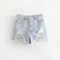 Casual pants As shown in the figure XS,S,M,L Summer of 2019 shorts High waist street routine 18-24 years old 81% (inclusive) - 90% (inclusive) Europe and America