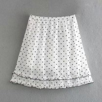 skirt Winter 2020 S,M,L As shown in the figure Short skirt street High waist A-line skirt 18-24 years old 71% (inclusive) - 80% (inclusive) other Europe and America