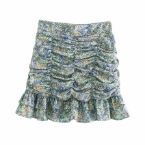 skirt Spring 2021 XS,S,M,L As shown in the figure Short skirt street High waist 18-24 years old 71% (inclusive) - 80% (inclusive) other Europe and America