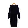 Dress Winter 2020 As shown in the figure S,M,L Mid length dress Long sleeves street High waist 18-24 years old 81% (inclusive) - 90% (inclusive) Europe and America