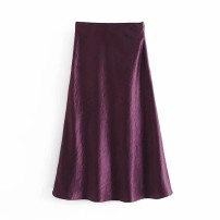 skirt Winter 2020 XS,S,M,L As shown in the figure Mid length dress street High waist 18-24 years old 71% (inclusive) - 80% (inclusive) other Europe and America