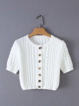 Wool knitwear Spring of 2019 Average size Short sleeve other 81% (inclusive) - 90% (inclusive) have cash less than that is registered in the accounts routine street 18-24 years old Europe and America