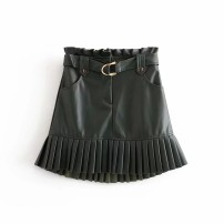 skirt Winter of 2019 XS,S,M,L As shown in the figure Short skirt street High waist 18-24 years old 81% (inclusive) - 90% (inclusive) Europe and America