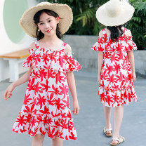 Dress Red, precious blue female Hold me 110cm,120cm,130cm,140cm,150cm,160cm Cotton 95% other 5% summer princess Skirt / vest Solid color cotton A-line skirt Class B 14, 5, 9, 12, 7, 8, 6, 13, 11, 4, 10 Chinese Mainland Guangdong Province Guangzhou City