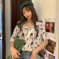 T-shirt Picture color M XL Summer 2020 Short sleeve Polo collar easy Regular routine commute other 96% and above 18-24 years old Korean version youth Swallow Castle Miss Zuo K15 PU